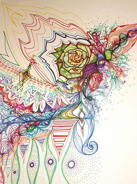 Another Sharpie Doodle  Doodles  Pinterest Design