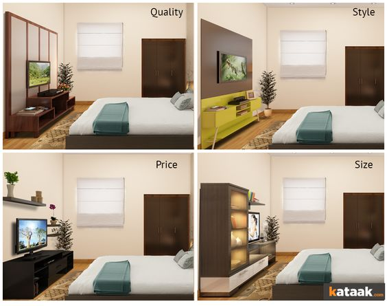 What Size Tv For Bedroom Calculator - Bedroom Style Ideas