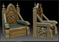 celtic throne - Google Search | set ideas | Pinterest ...