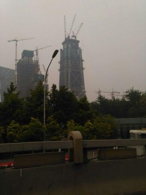 北京摩天大楼中国尊大厦