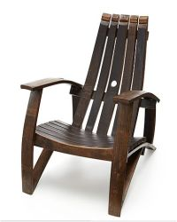UPCYCLED WINE BARREL CHAIR | good things | Pinterest ...