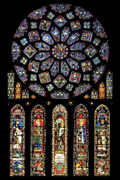Catedral de chartres frança:
