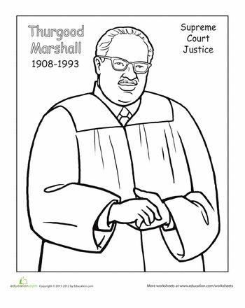 Thurgood Marshall Clip Art