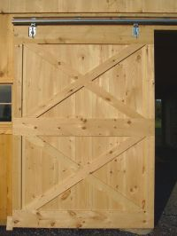 Free Sliding Barn Door Plans from BarnToolBox.com | DIY ...