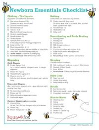 baby gift registry checklist 2 | Baby Shower Ideas ...