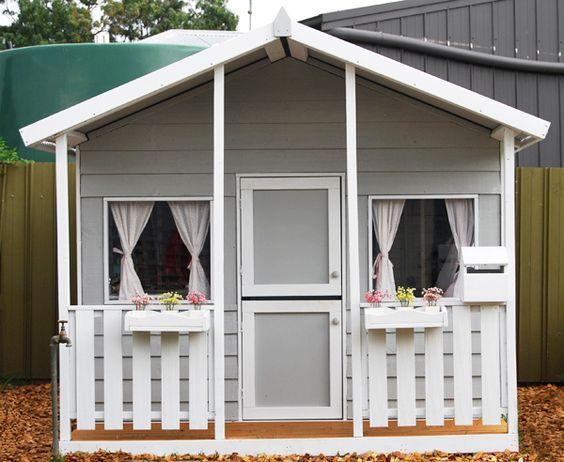 Cubby House Paint Scheme's & Design Tips Aarons Outdoor Living