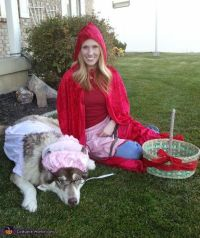 Little Red Riding Hood & Big Bad Wolf Costume | Awesome ...
