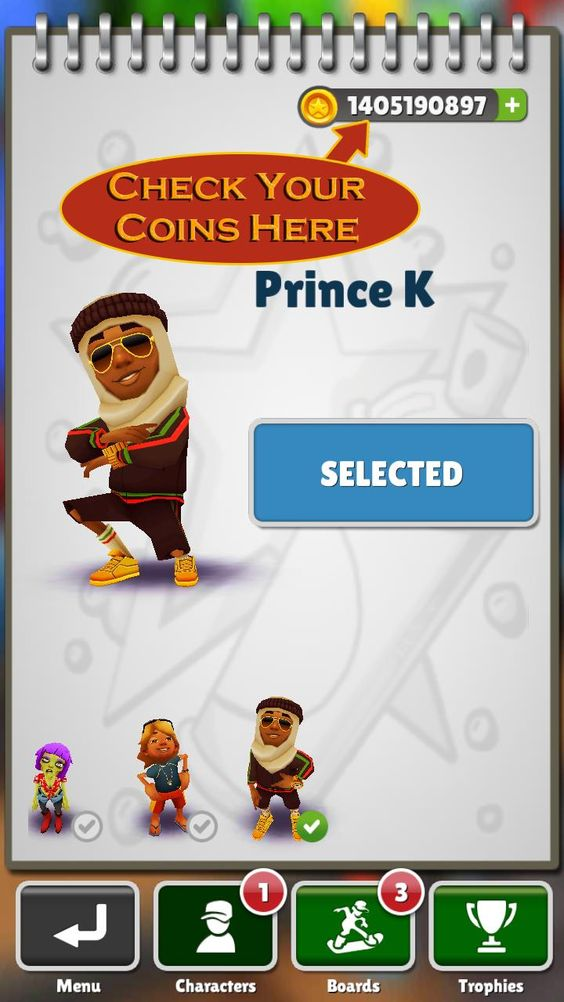 Subway surfers Surfers and Coins on Pinterest