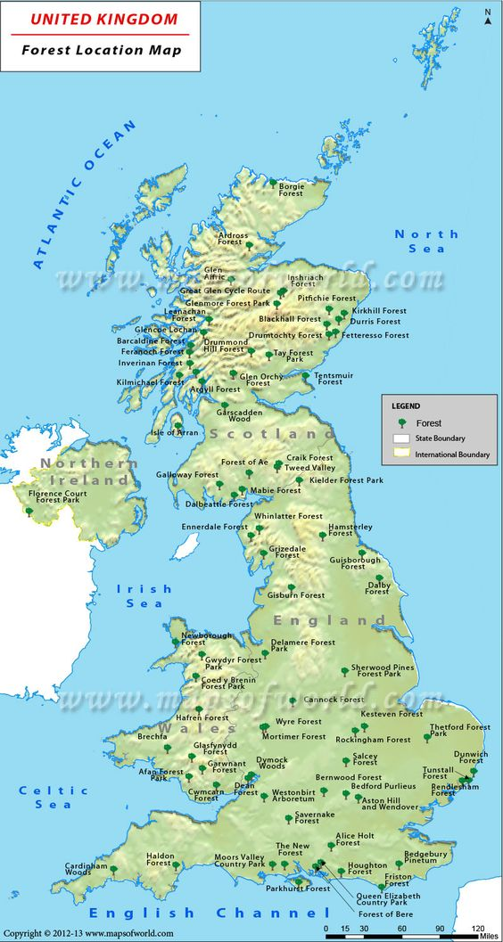 Maps Free uk and Forests on Pinterest
