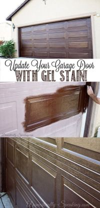 Stains, Metal doors and Minwax on Pinterest