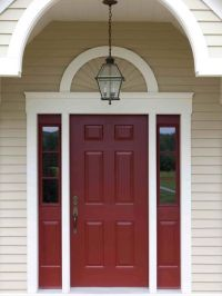 28 Inviting Colors to Paint a Front Door | Red Paint, Behr ...