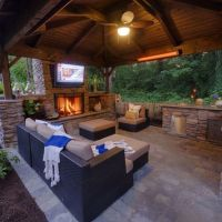 Noelito Flow   Outdoor living, Covered patios and TVs