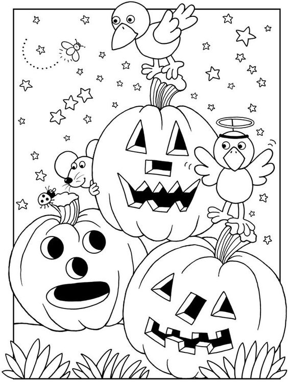 Coloring, Coloring books and Happy halloween on Pinterest