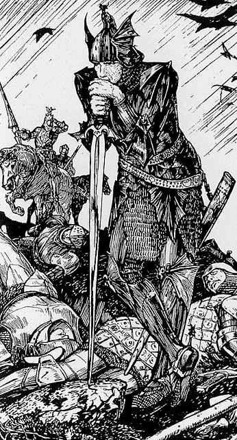 Sir Mordred, H J Ford. so emo.: