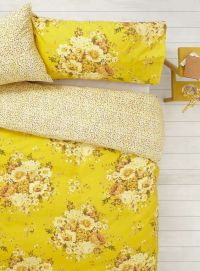 Vintage Nostalgia Yellow Floral Bedding Set - BHS | Things ...