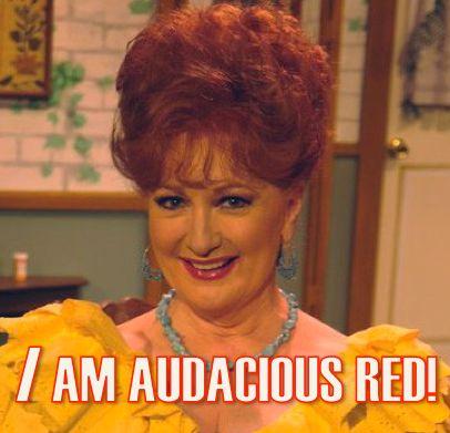 Sordid Lives series audacious red Lavonda Ann Walker