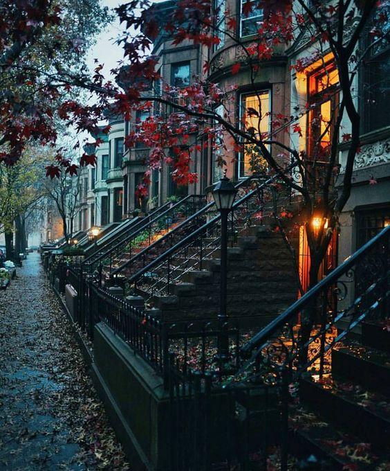 """Park Slope Historic District. Brooklyn, New York. Pic by @samhorine via @alldaytravel"":"