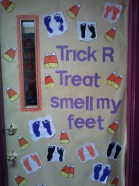 Halloween, Candy corn and Halloween door on Pinterest