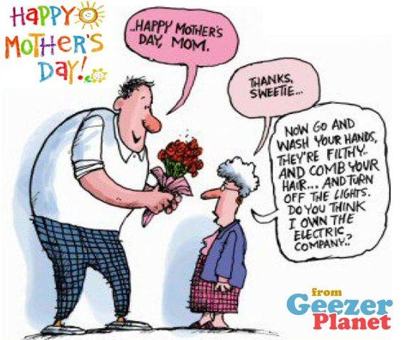 Cartoon Jokes About Old People Old Senior Citizen