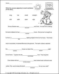 All Worksheets  Science Fill In The Blank Worksheets