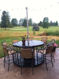 Patio table DIY | For the Home | Pinterest | Nautical rope ...