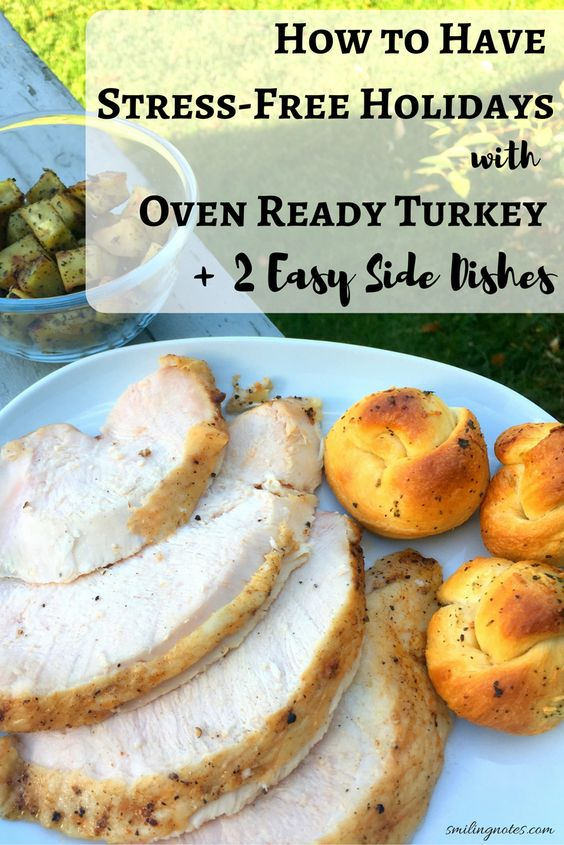 How to have stress-free holidays with oven Ready Turkey and 2 Easy Side Dishes Make this Holiday season less stressful and more fun for your family and friends by using Jennieo Oven Ready Turkey - which goes straight from your freezer to oven. Plus check out two easy side dishes that that can be made under a few minutes. Holiday entertaining just got easier # JennieOHoiday #sponsored: