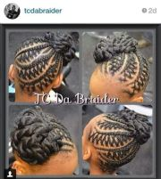 braided styles gave