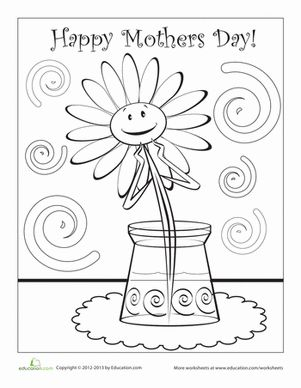 Happy mothers day, Mothers and Coloring on Pinterest