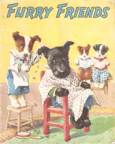 Illustrated By A E Kennedy Furry Friends Juvenile