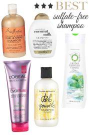 sulfate free shampoo shampoos