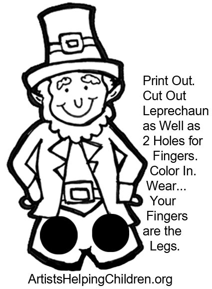 How to Make a Leprechaun Finger Puppet for St. Patrick's