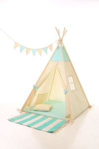 Kids teepee play tent wigwam, children's teepee tipi, kids ...