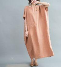 Loose Maxi Dress Women Oversize Dress by MaLieb ...