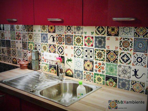 Originelle & Bunte Fliesen Für Die Küchenrückwand