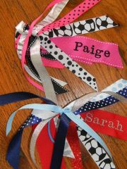 custom hair bows idea