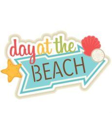 Image result for day At THE BEACH clipart