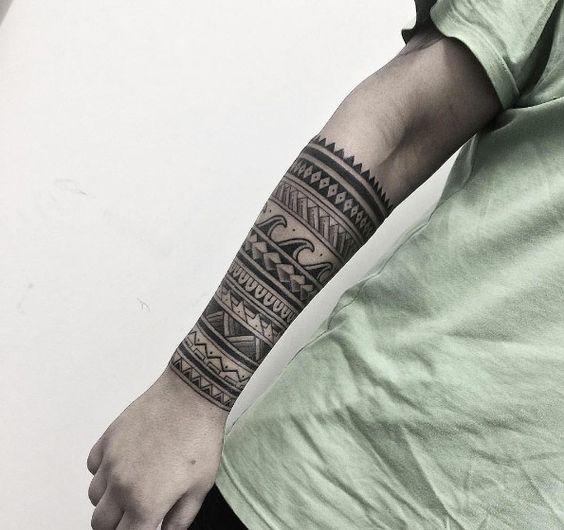 Brazaletes Maories Tatuajes Free In Progress With Brazaletes
