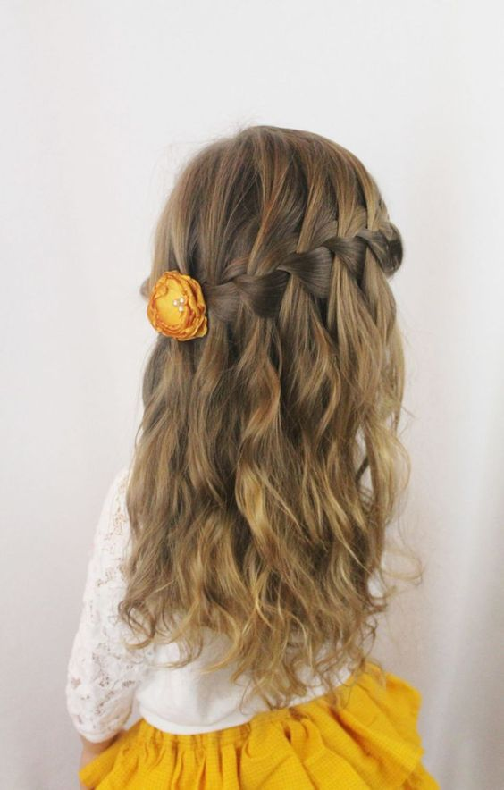 Easy Little Girl Hairstyles 2016 2017 Coupes De Cheveux Petites