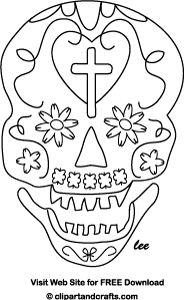 Adult coloring, Skull face mask and Printable paper on