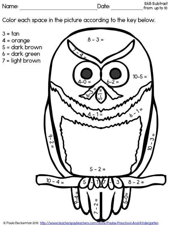 Math, Owl and Fun on Pinterest