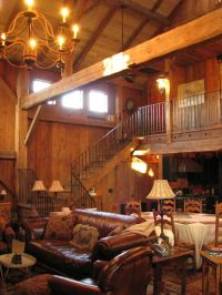 Old barn turned into a home. If we buy property with a ...