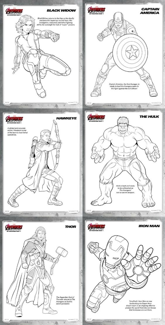 Avengers: Age of Ultron {Review and Free Printable