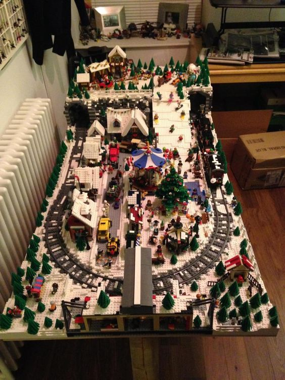Lego Christmas Villages And Google On Pinterest
