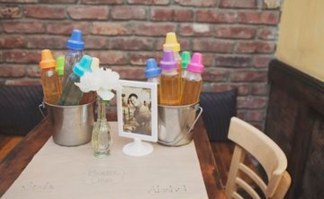 11 Awesome Co Ed Baby Shower Ideas Chugs Bottle And Juice