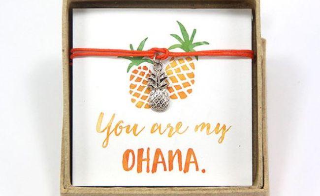 You Are My Ohana Pineapple Bracelet Hawaiian Bracelet