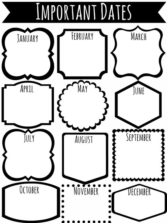 Autumn Birds: Organization Printables for College Students