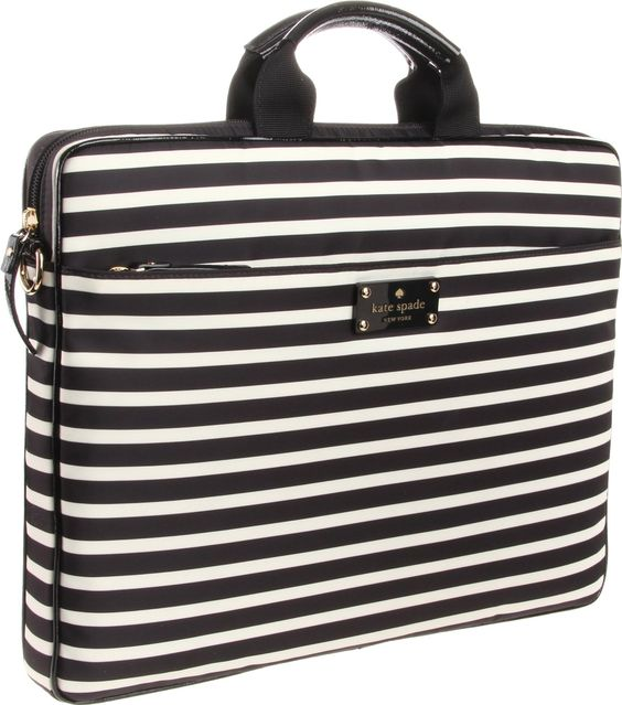 """Kate Spade New York Kate Spade Nylon Chad 15"""" PXRU3370 Laptop Bag - designer shoes, handbags, jewelry, watches, and fashion accessories 