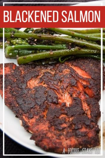 Itchin' for some Asian food? This Blackened Salmon should do the trick!: