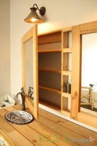 double medicine cabinet how to / diy build a single with a ...