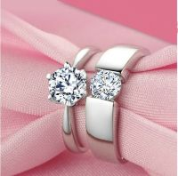 cheap matching promise rings for him and her | promise ...